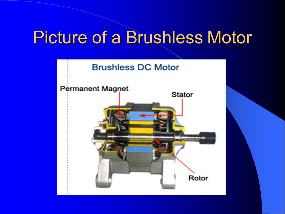 Picture of a Brushless Motor