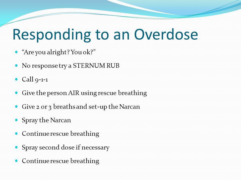 Responding to an Overdose