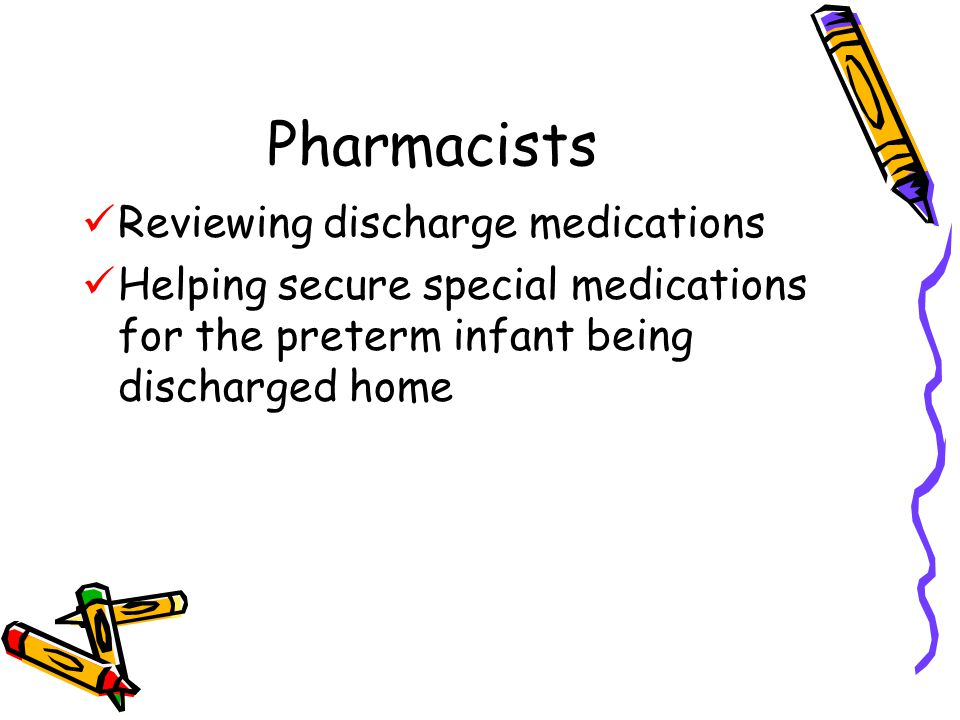 Pharmacists Reviewing discharge medications