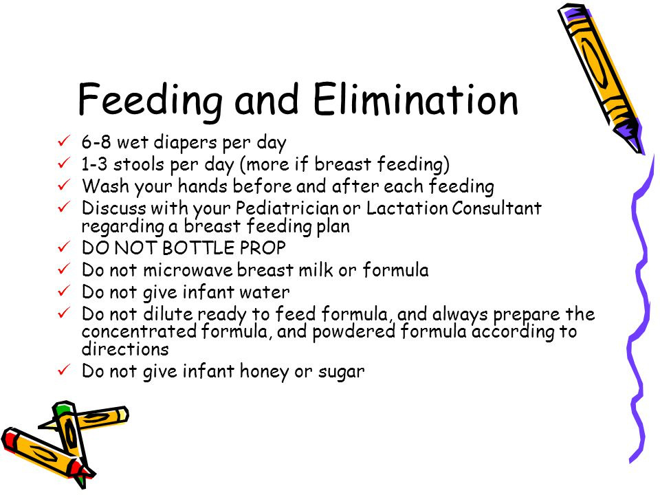 Feeding and Elimination