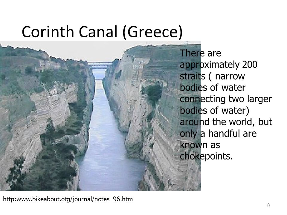Corinth Canal (Greece)