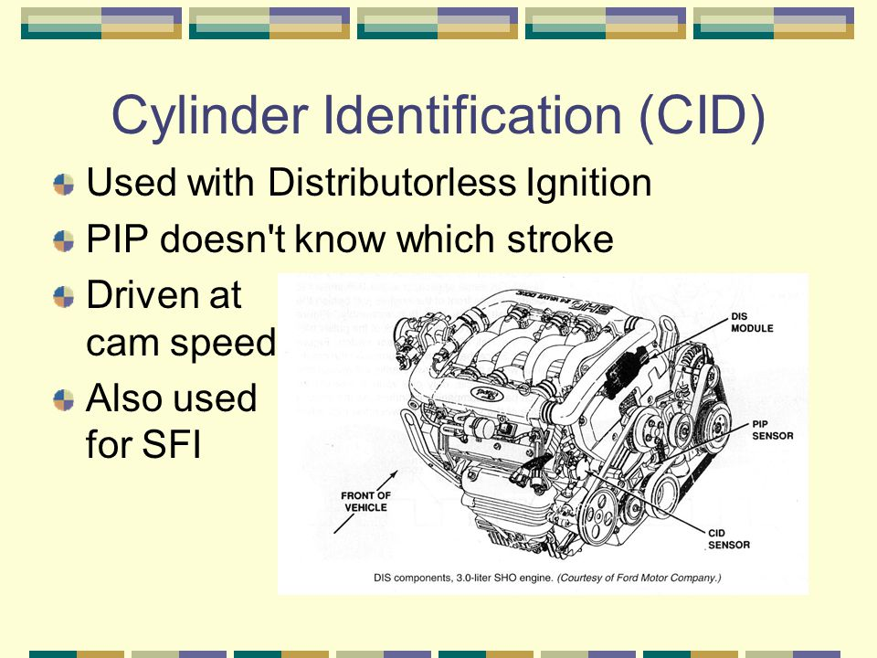 Cylinder Identification (CID)