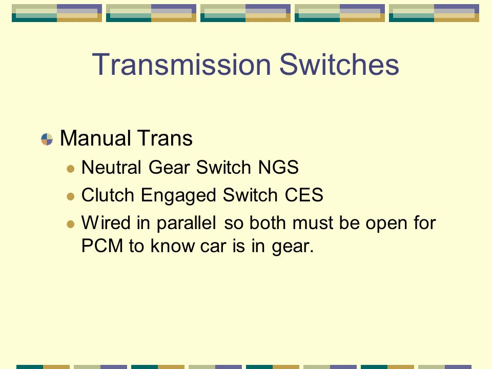Transmission Switches