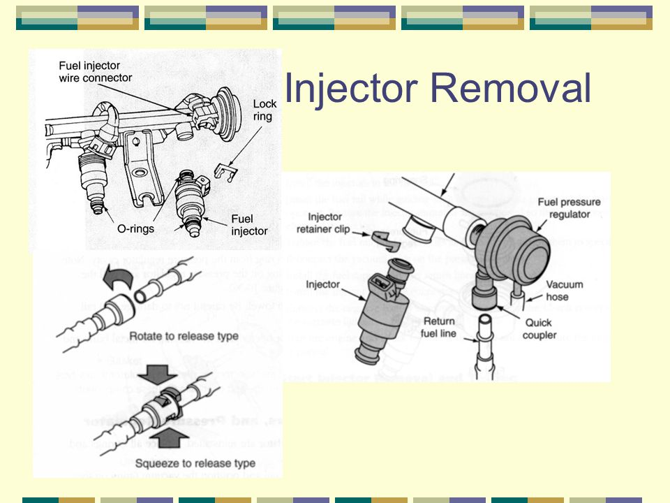 Injector Removal