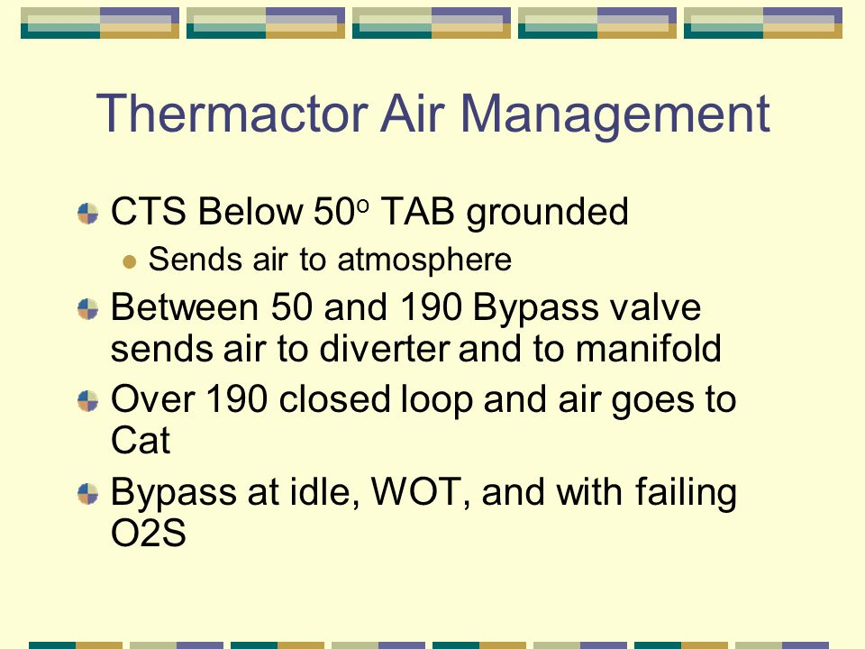 Thermactor Air Management