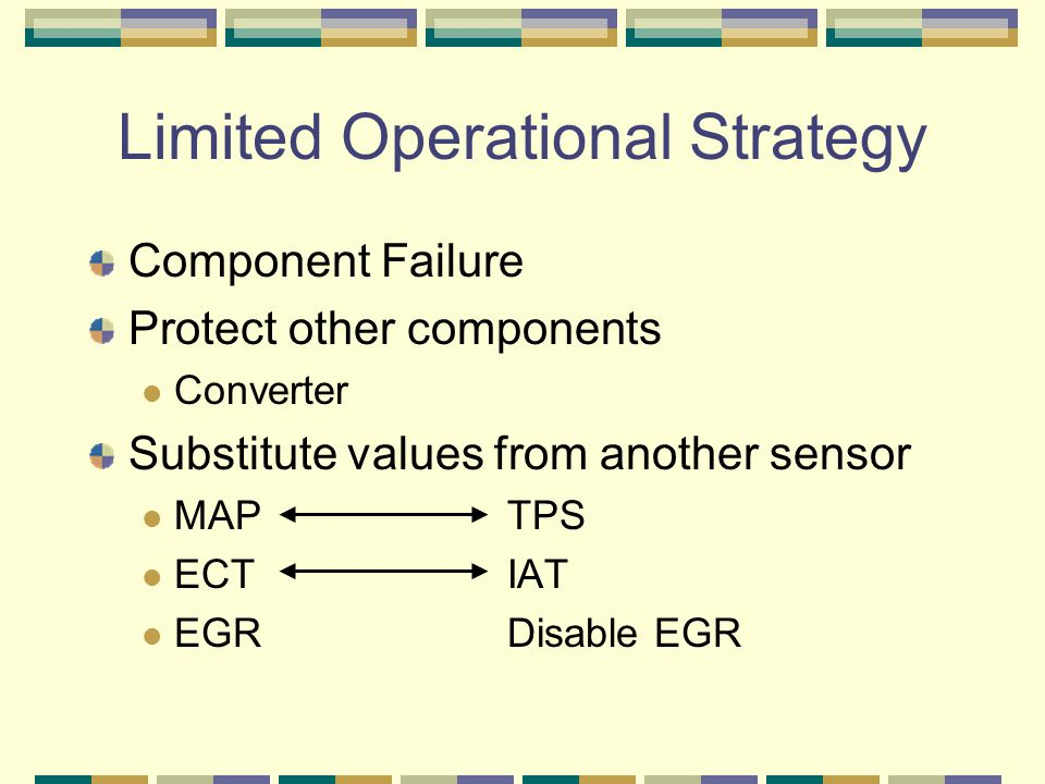 Limited Operational Strategy