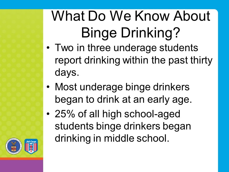 What Do We Know About Binge Drinking