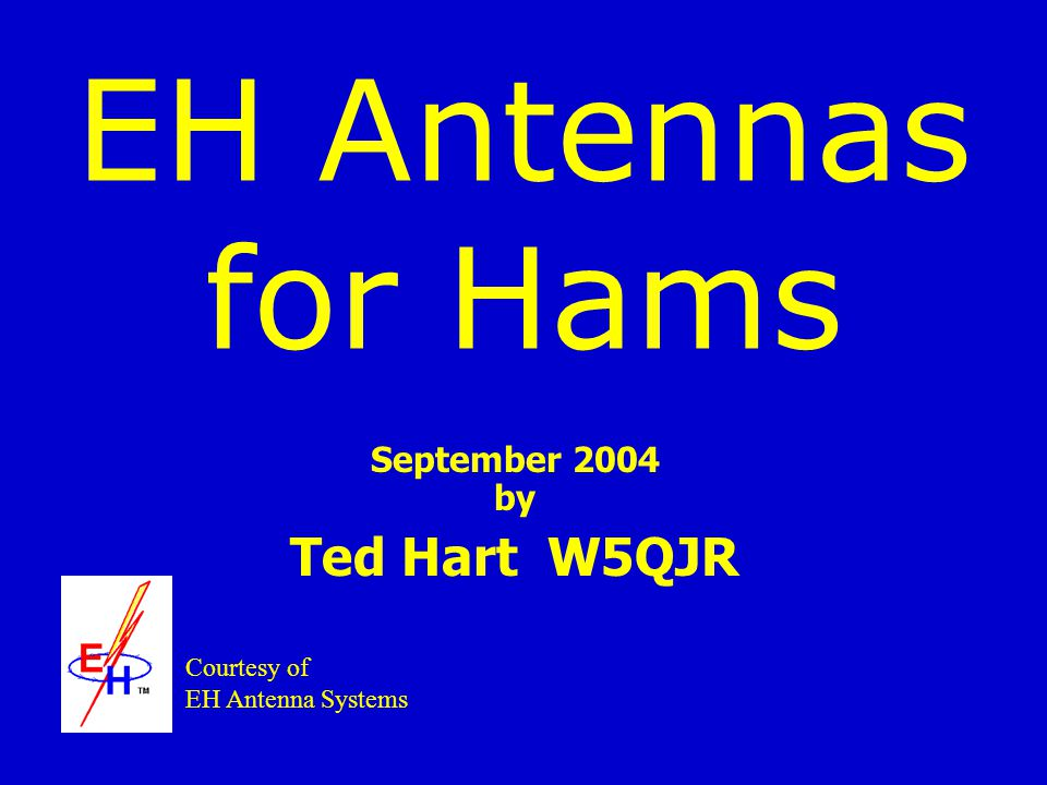September 2004 by Ted Hart W5QJR