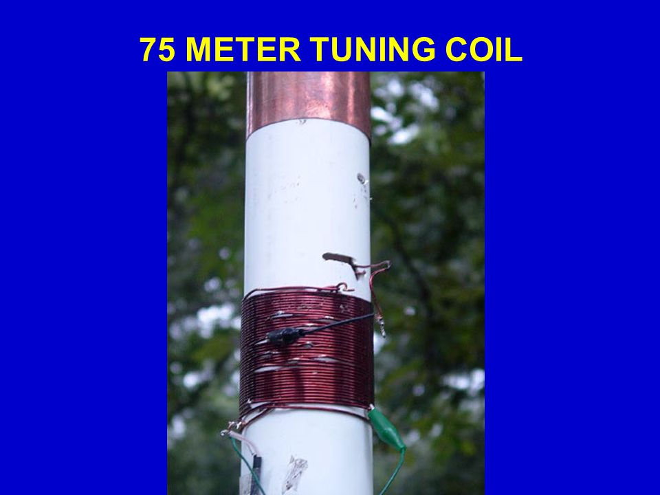 75 METER TUNING COIL