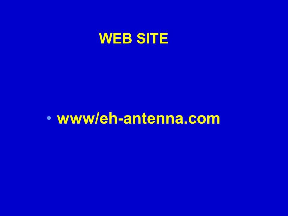 WEB SITE www/eh-antenna.com