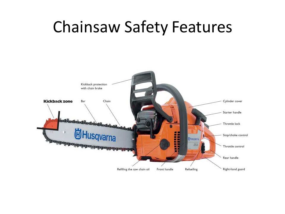 Chainsaw Safety Features