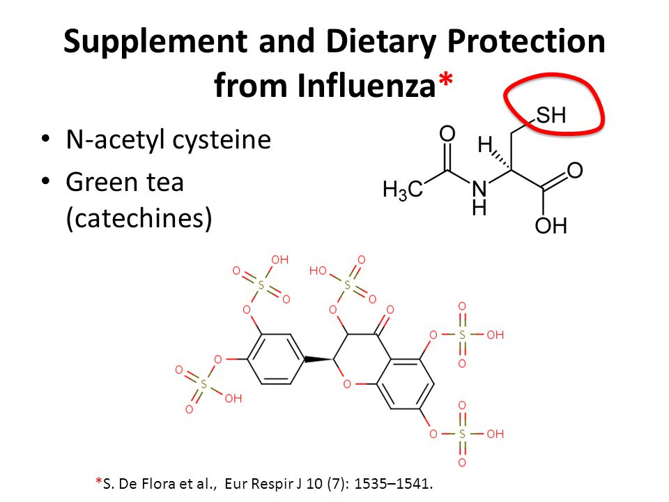 Supplement and Dietary Protection from Influenza*
