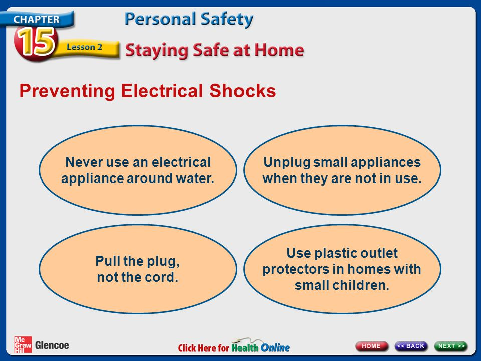 Preventing Electrical Shocks
