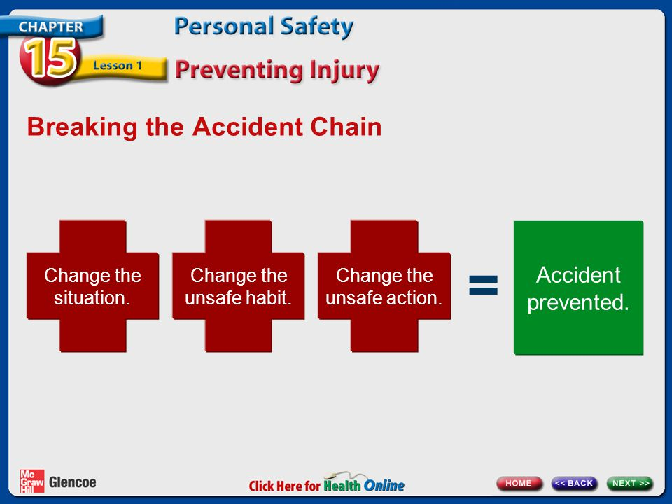 Breaking the Accident Chain