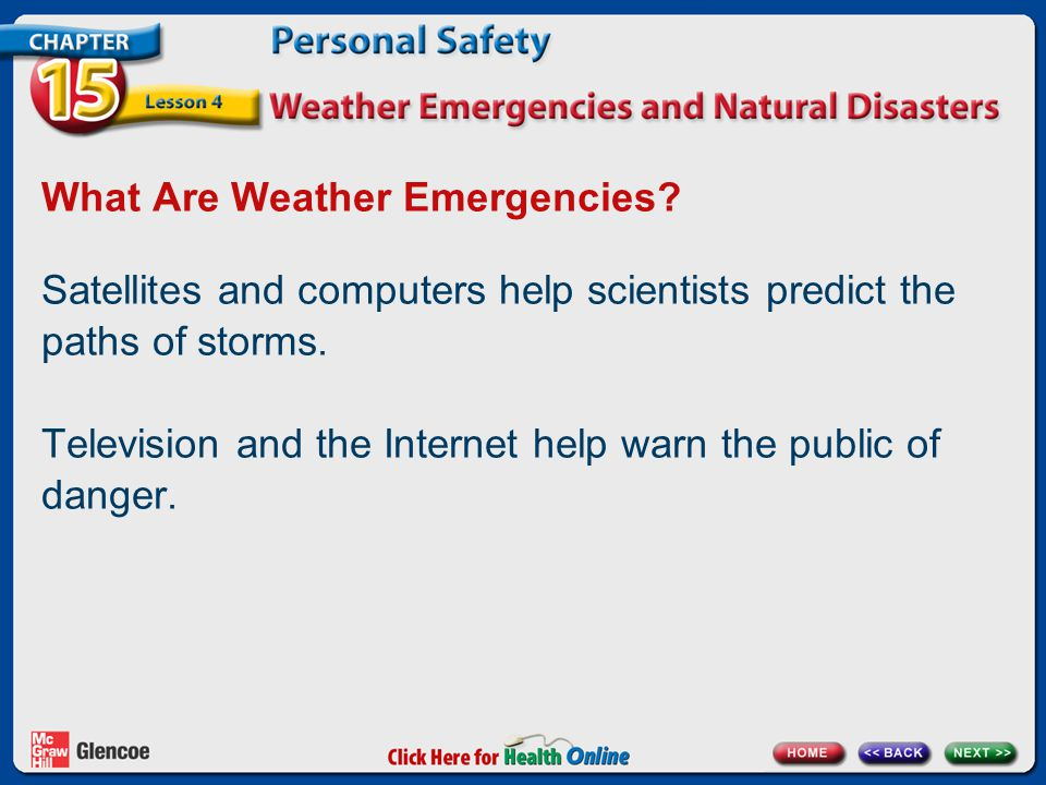 What Are Weather Emergencies