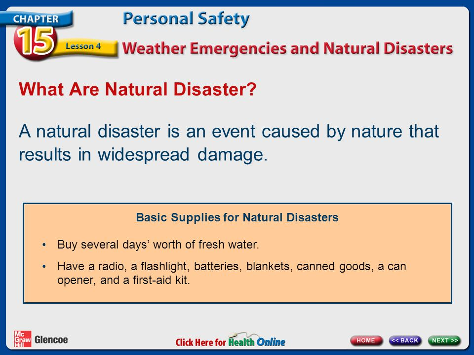 What Are Natural Disaster