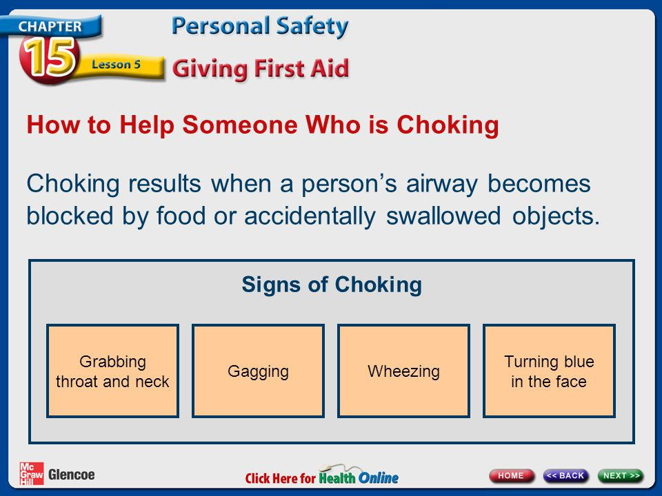How to Help Someone Who is Choking