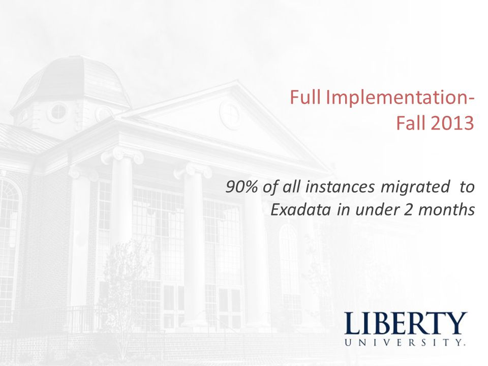 Full Implementation- Fall 2013