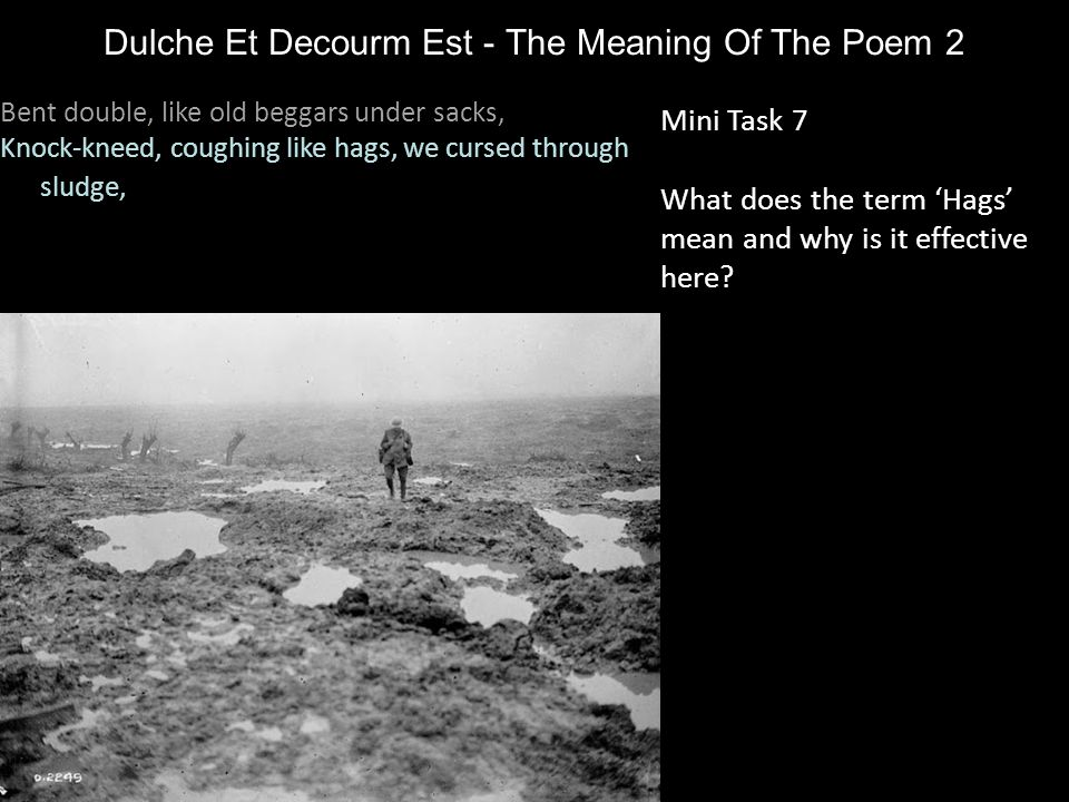 Dulche Et Decourm Est - The Meaning Of The Poem 2