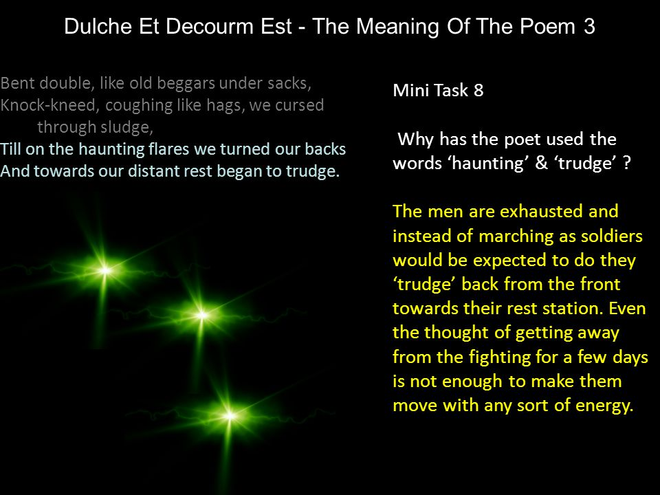 Dulche Et Decourm Est - The Meaning Of The Poem 3