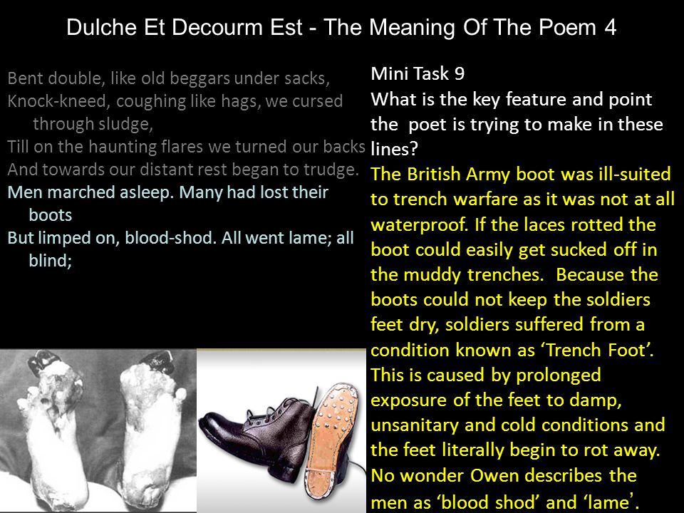 Dulche Et Decourm Est - The Meaning Of The Poem 4