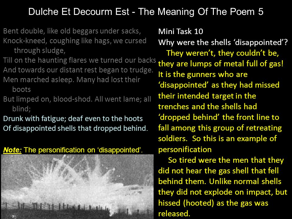 Dulche Et Decourm Est - The Meaning Of The Poem 5
