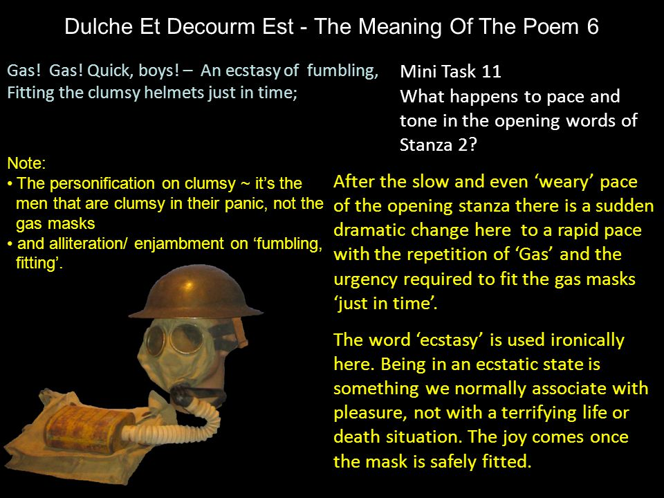 Dulche Et Decourm Est - The Meaning Of The Poem 6