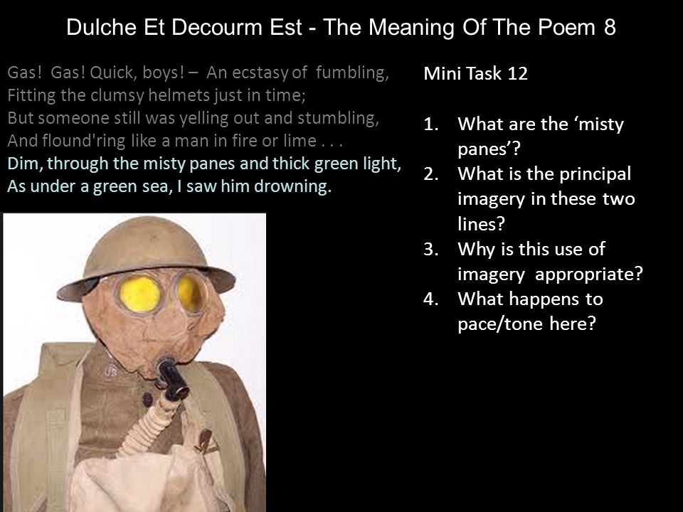 Dulche Et Decourm Est - The Meaning Of The Poem 8