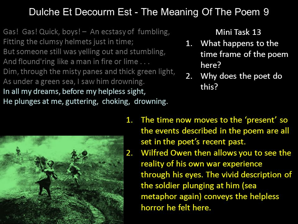 Dulche Et Decourm Est - The Meaning Of The Poem 9