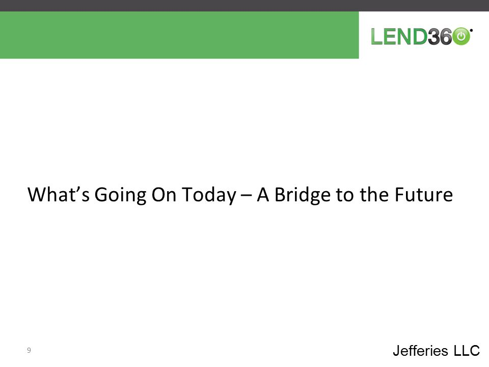 What's Going On Today – A Bridge to the Future