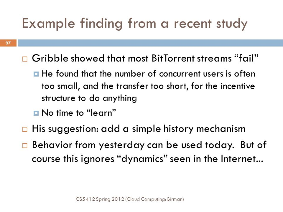 Example finding from a recent study