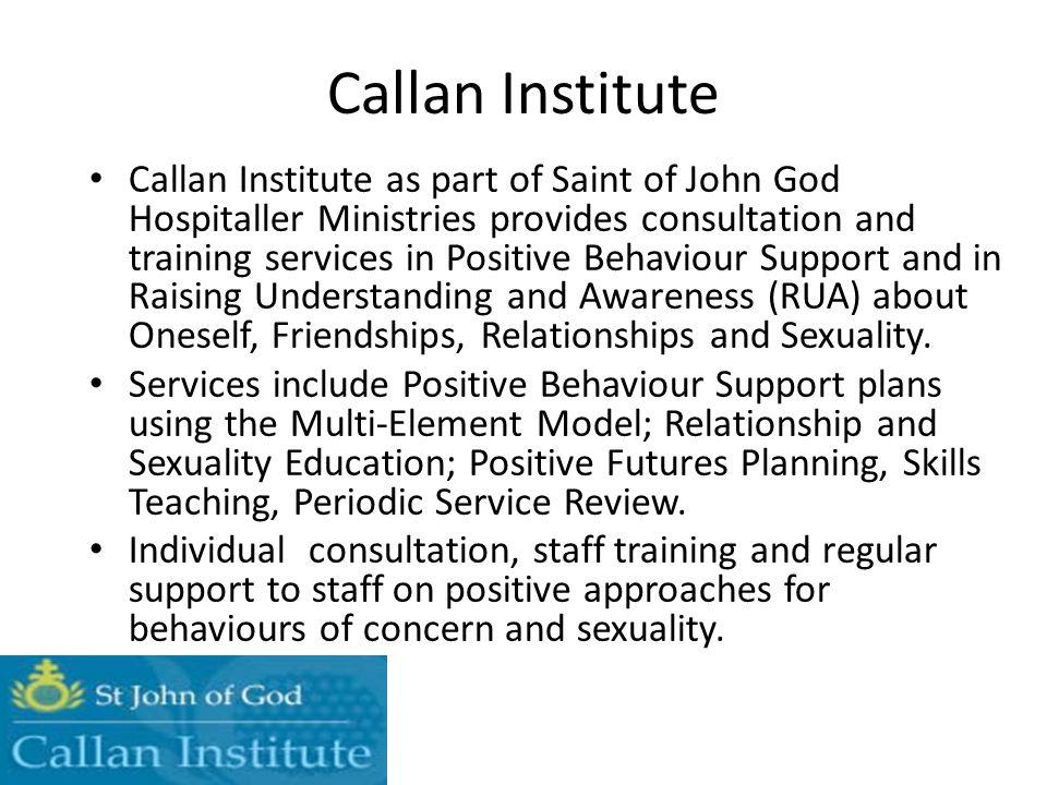 Callan Institute