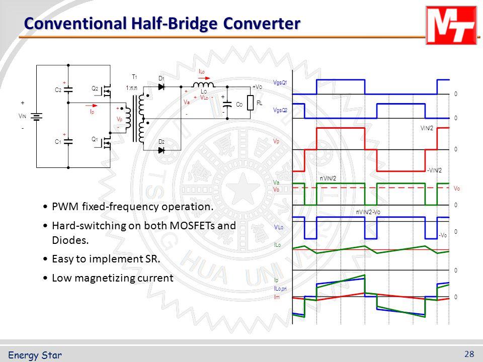 Conventional Half-Bridge Converter