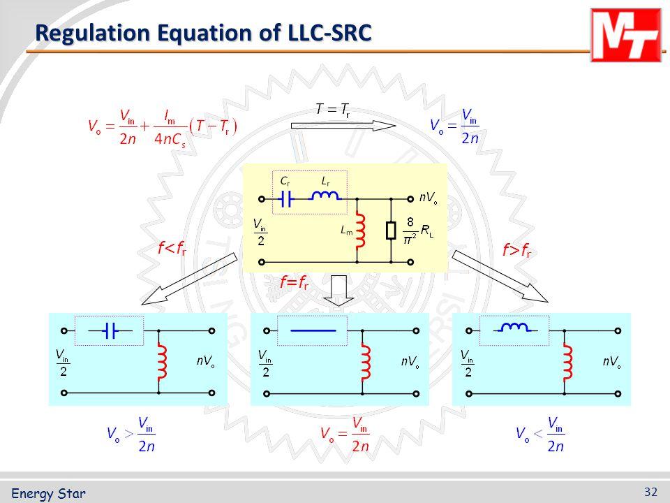 Regulation Equation of LLC-SRC
