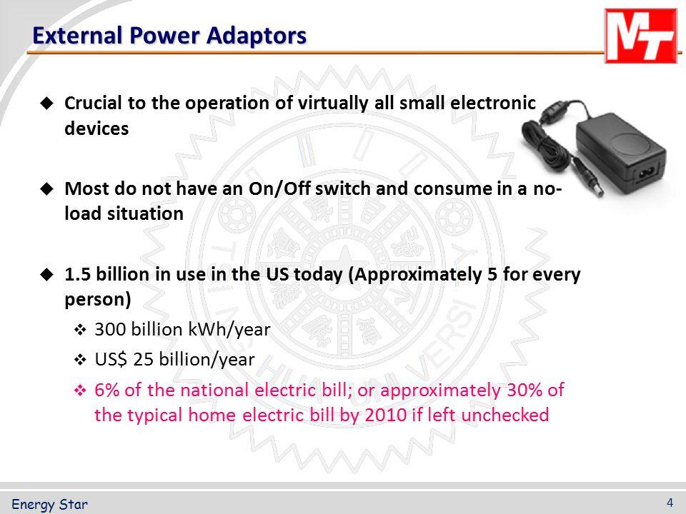 External Power Adaptors