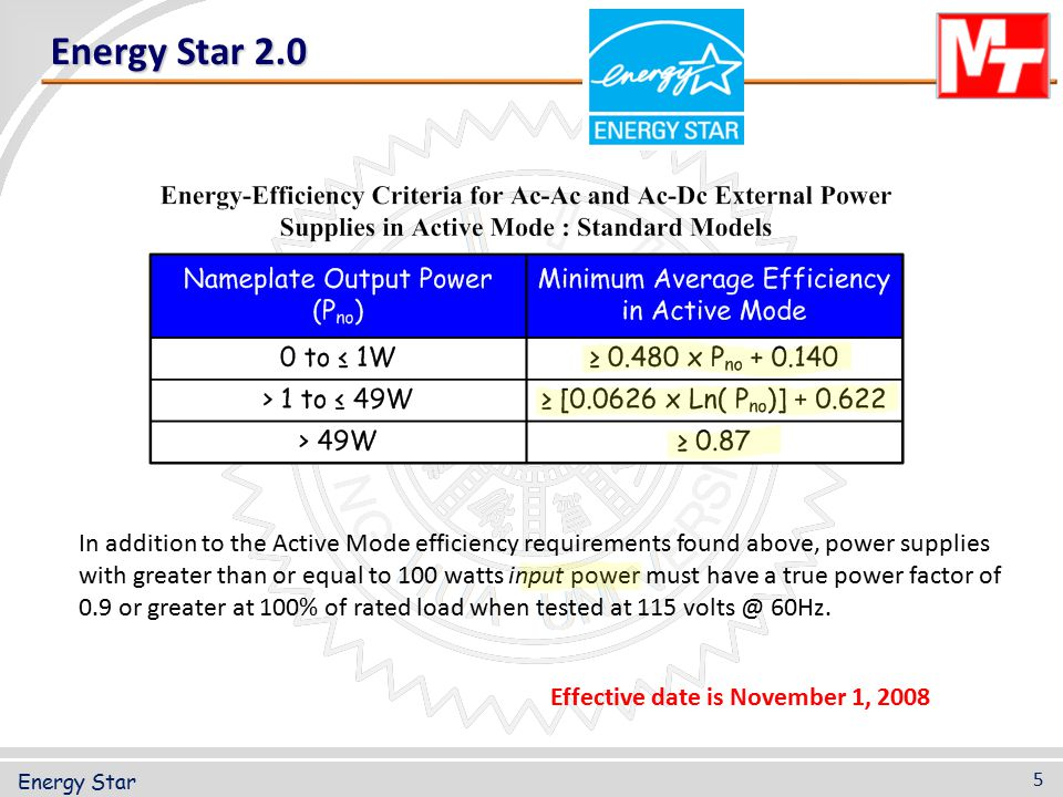Dec 01 ppt download 5 star energy