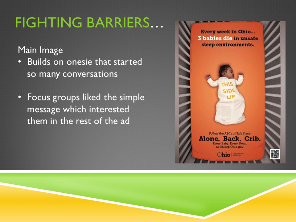 Fighting barriers… Main Image