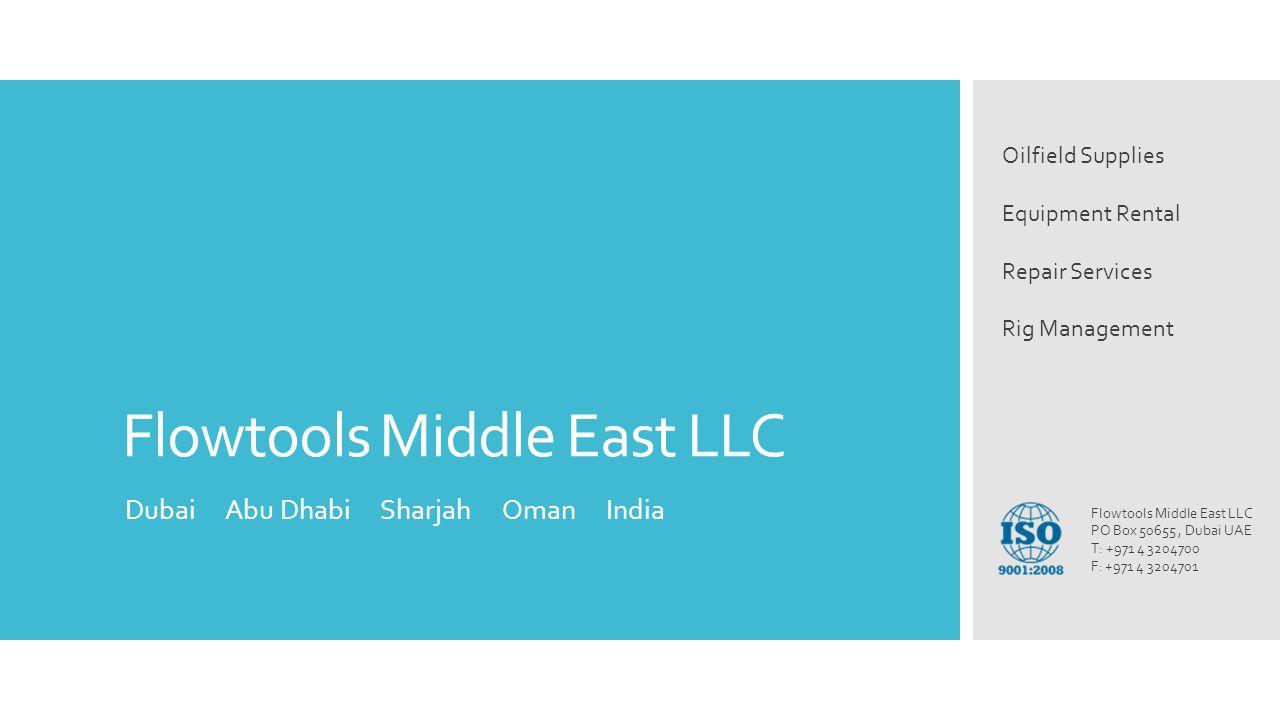 Flowtools Middle East LLC
