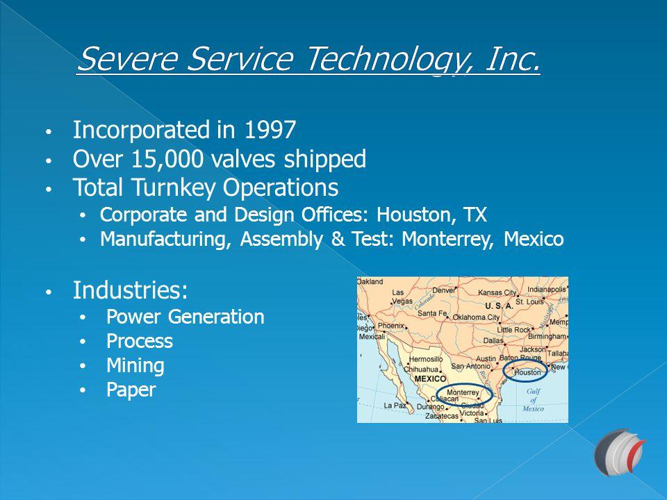 Severe Service Technology, Inc.