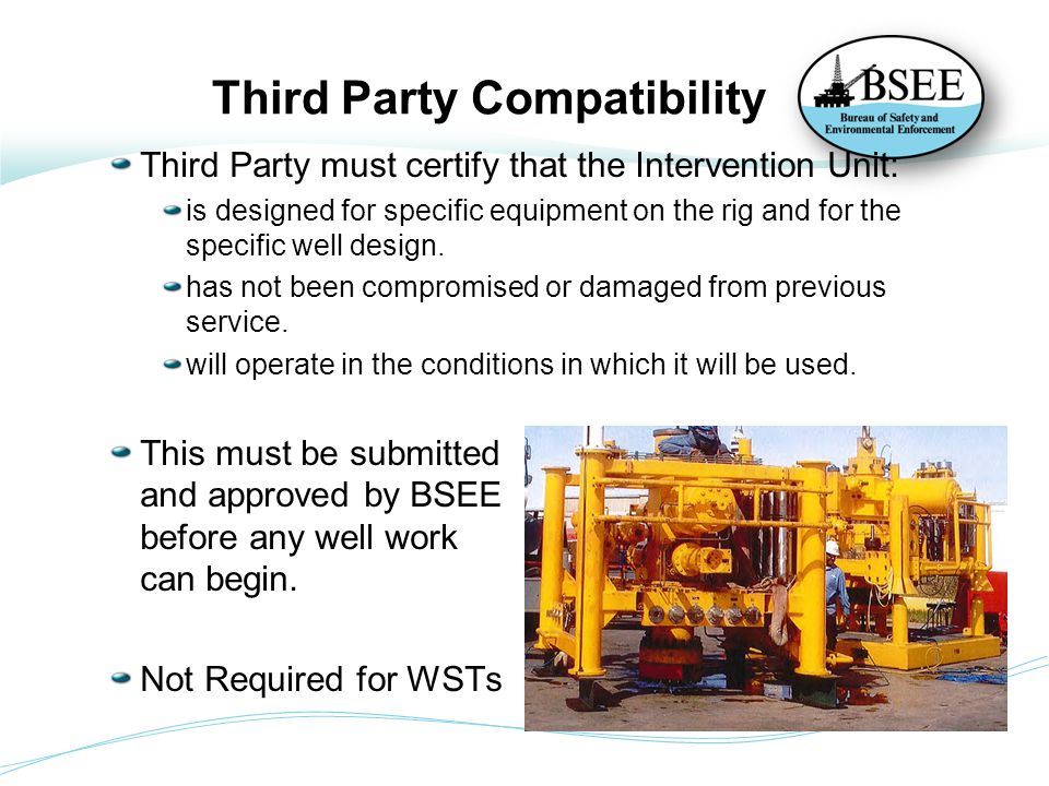 Third Party Compatibility
