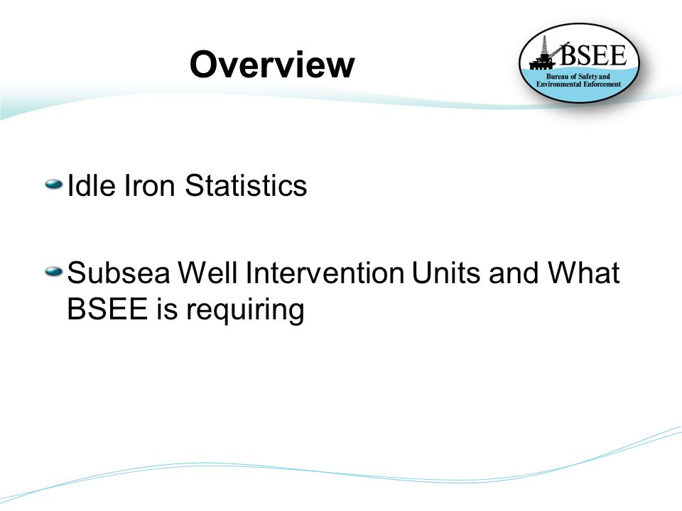 Overview Idle Iron Statistics