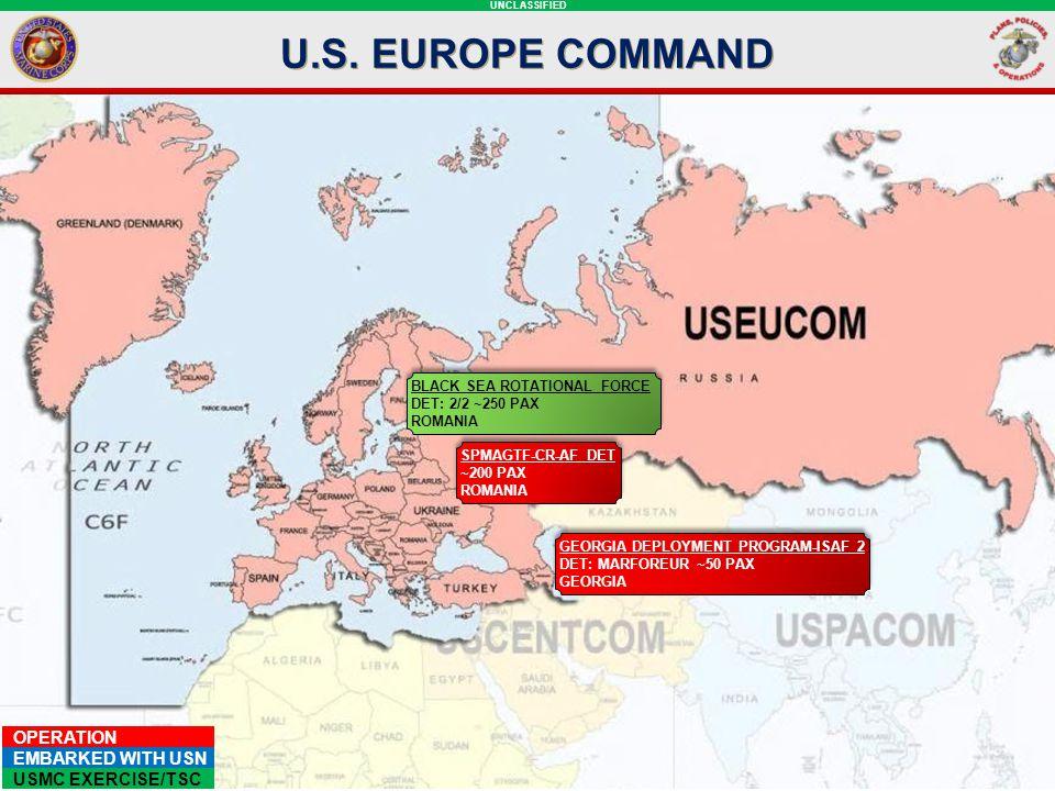 U.S. EUROPE COMMAND EUCOM SLIDE: