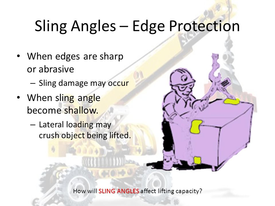 Sling Angles – Edge Protection