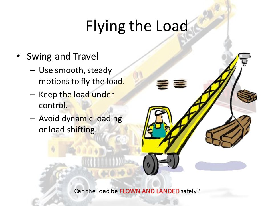 Can the load be FLOWN AND LANDED safely