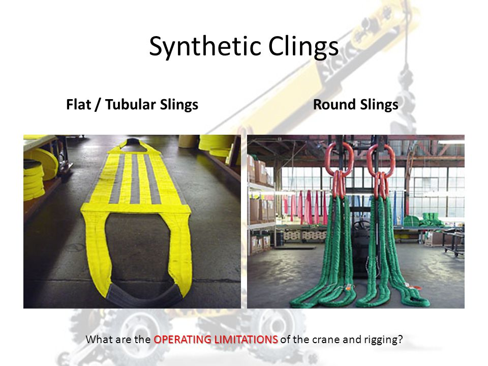 What are the OPERATING LIMITATIONS of the crane and rigging