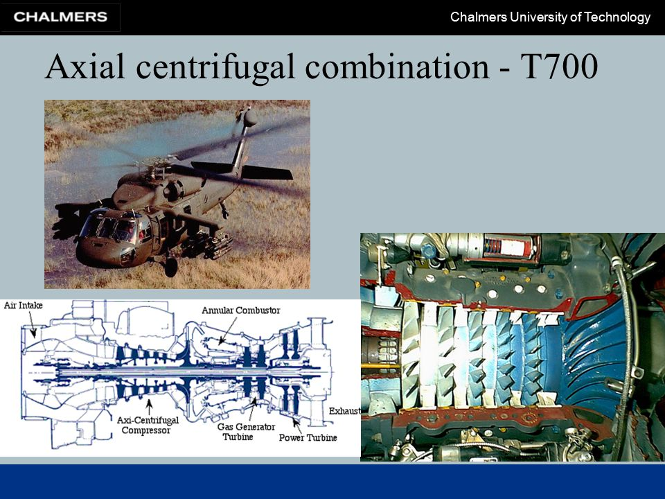 Axial centrifugal combination - T700