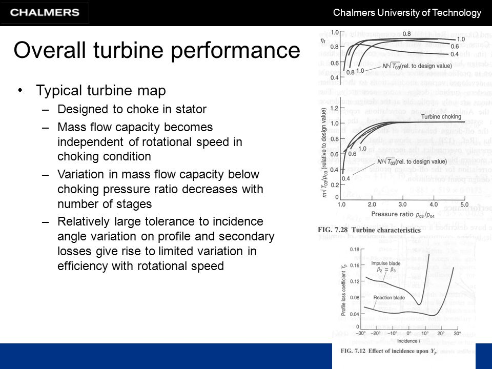 Overall turbine performance