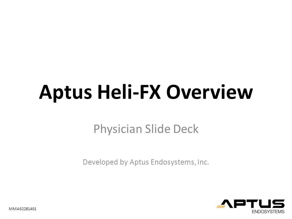Aptus Heli-FX Overview