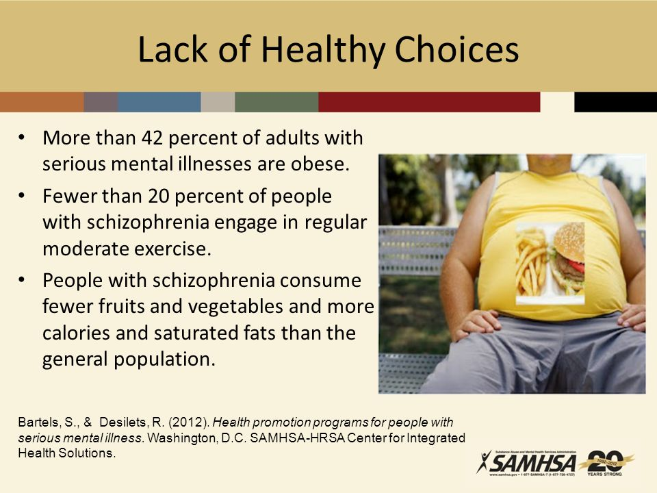 Lack of Healthy Choices