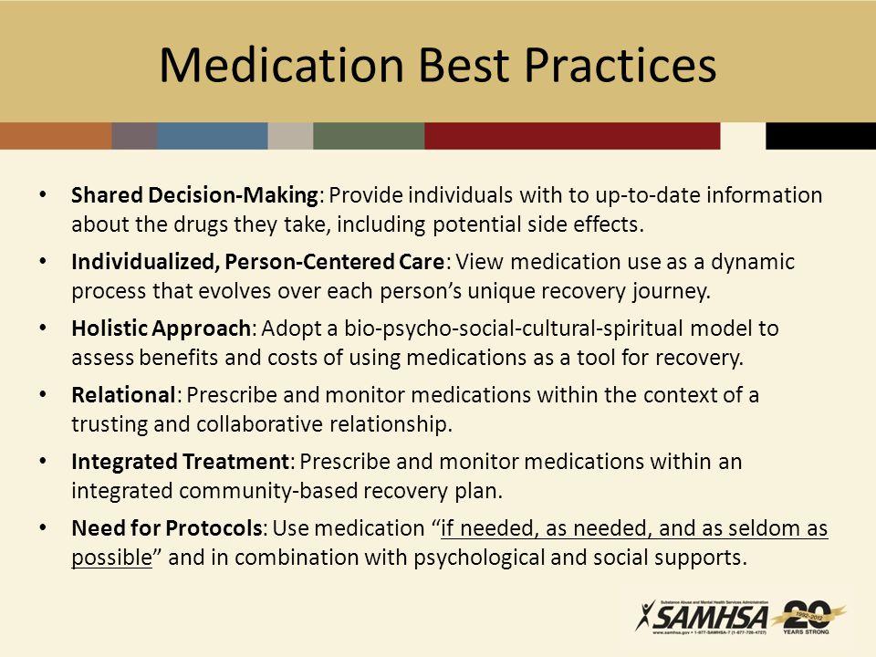 Medication Best Practices